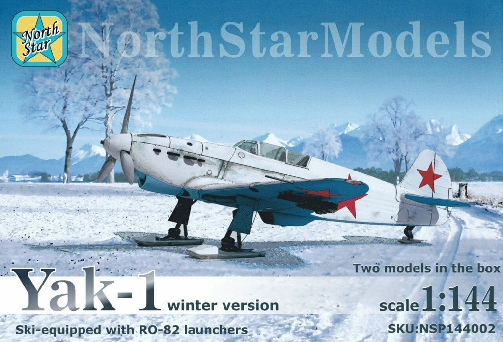 1/44 scale YaK-1 winter version with RO-82 (RS-82) Pre-Order