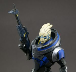 210mm Garrus Figure finished, starting New Vegas sniper