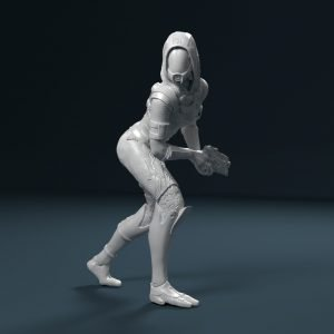 New ME figures 54 mm – Tali and Miranda