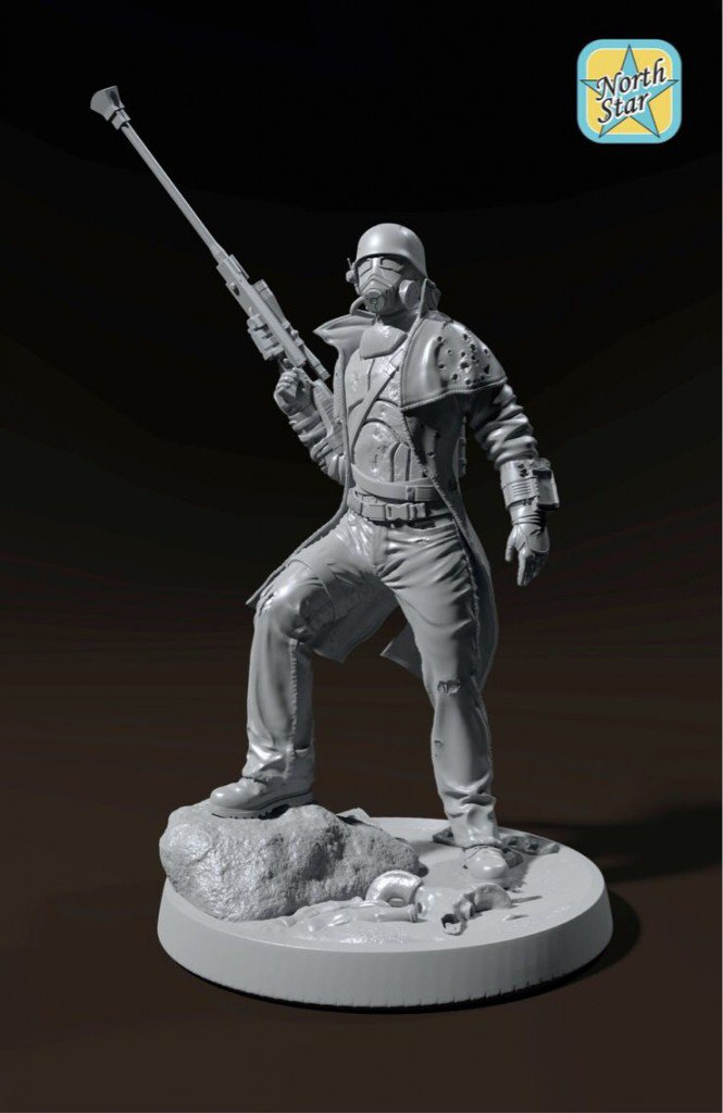 Fallout New Vegas Sniper coming soon – big scale figure