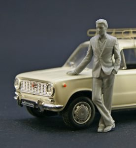 New 1/43 scale resin unpainted figures