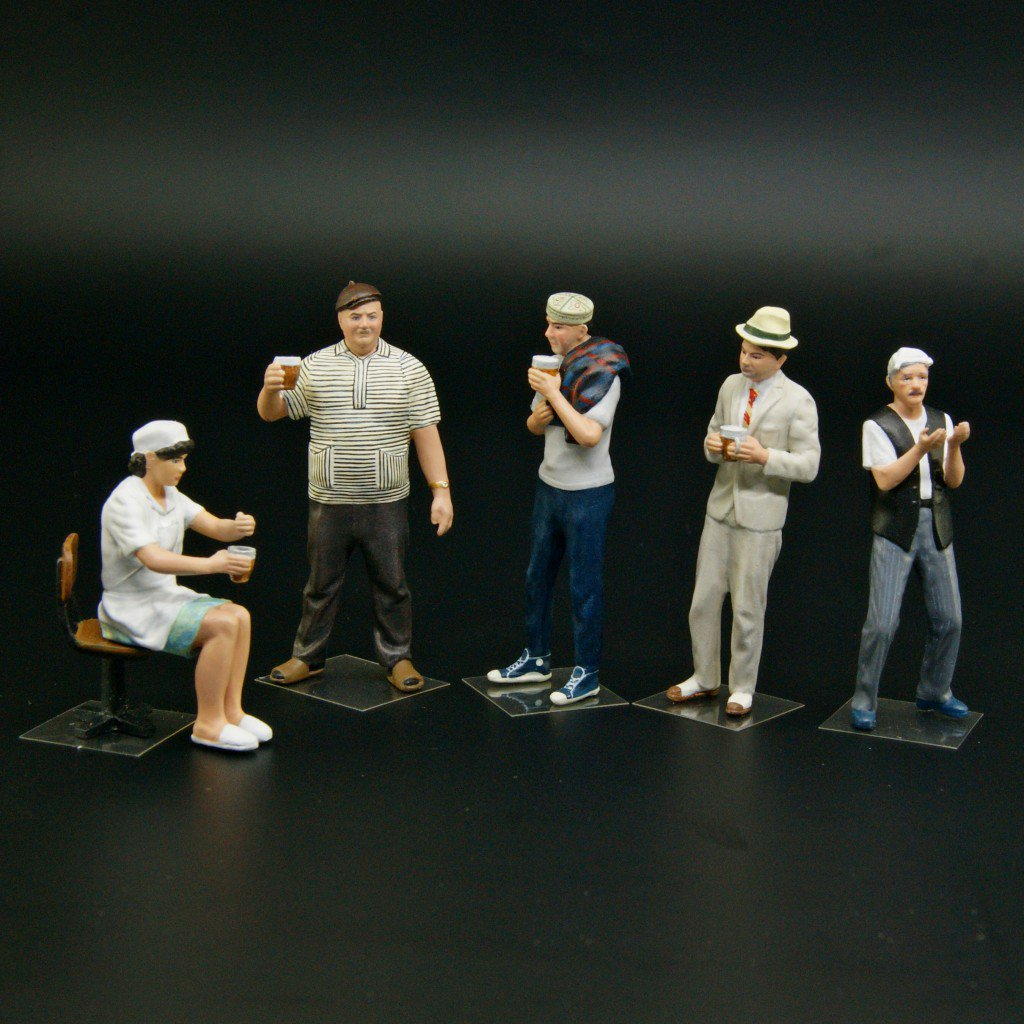 New 1/43 scale figures – Soviet movie Kidnapping, Caucasian Style personages