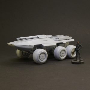 Mass Effect MAKO M35 resin kit