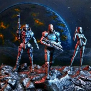 MassEffect diorama by Christian Selo
