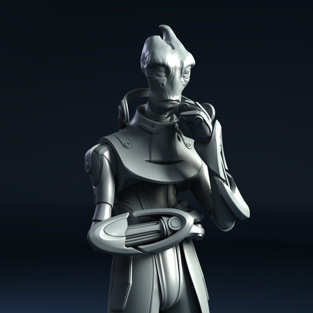New Mass Effect 54 mm figure – Mordin Solus preorder