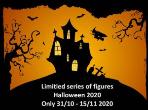 Halloween 2020 1/43 1/24 1/18 scale figures and accessories