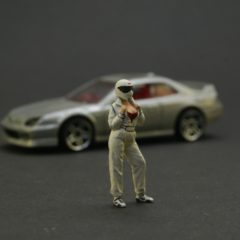 S-scale 1/64 Handpainted figure The Stig's girlfriend