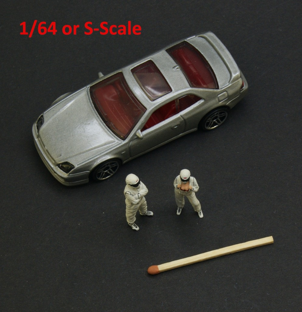 NEW 1/64 or S-scale handpainted figures in NSM catalog