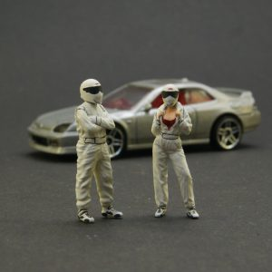 1/64 Hand painted figures Stig's family