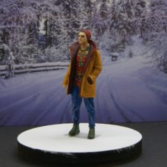 1/43 scale – Artur in Sheepskin coat Happy New Year series