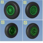 1/48 MiG-25 Foxbot wheels set – No Mask series