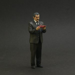1/24 Ferdinand Porsche painted figure