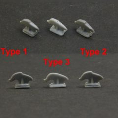 1/35 Towing Hooks 1,2 and 3 types Soviet medium and heavy tanks and more (12 pcs in a set)