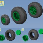 1/35 Sikorsky UH-60 Blackhawk  wheels set – No Mask series