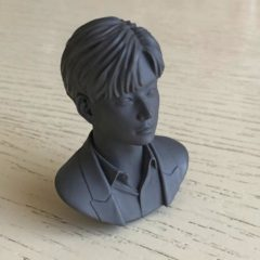 1/6 scale bust South Korean singer V not painted