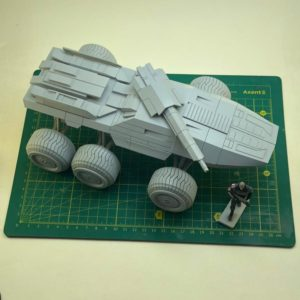 Resin model with 3D printed parts MAKO M35 1/32 scale (for 54 mm figures) Pre-order
